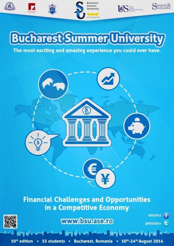 Afis Bucharest Summer University 2014