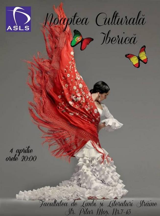 Afis Noaptea Culturala Iberica
