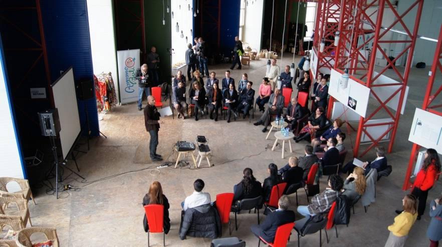 Cladirea viitorului Muzeu al Culturii Romilor