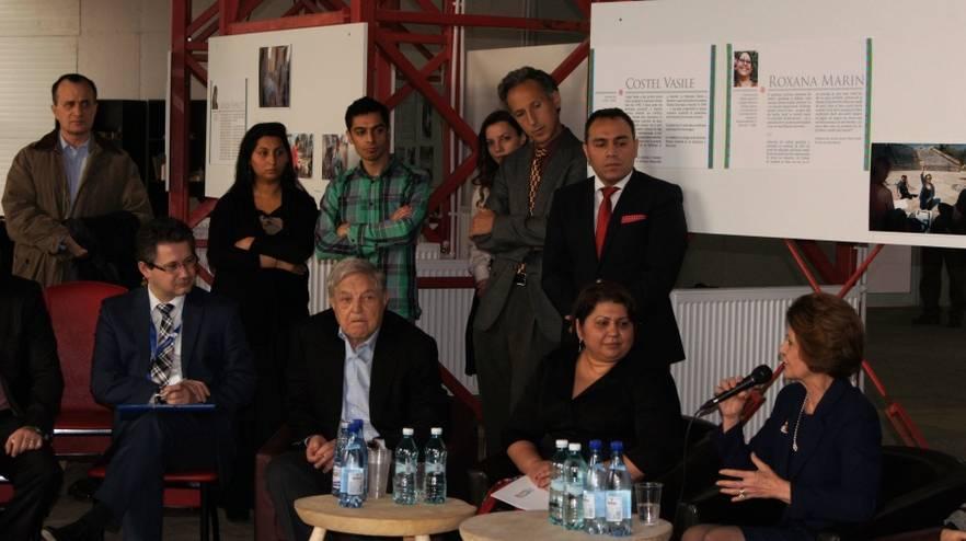 George Soros_Nicoleta Bitu_Androulla Vassiliou