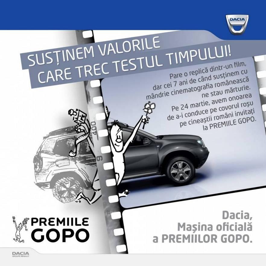 vizual Dacia@Gopo