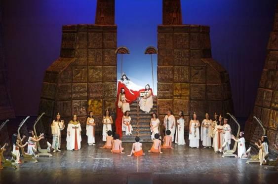 Aida la Opera Nationala Bucuresti