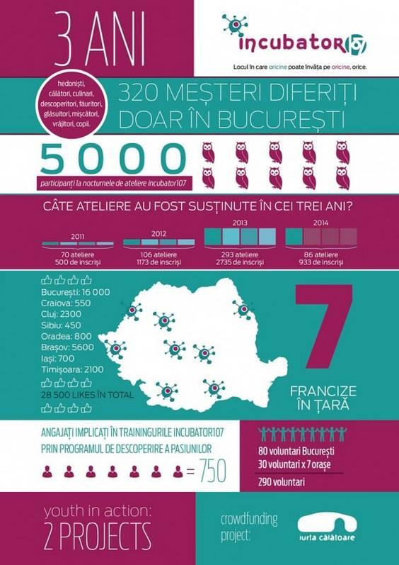 Infografic - 3 ani de incubator107