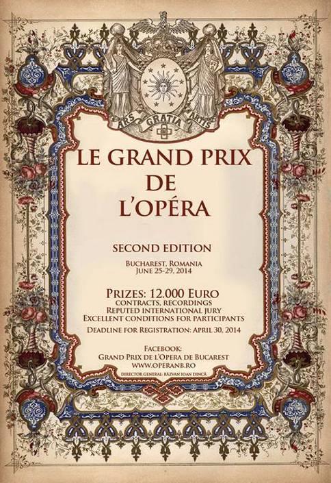 Le Grand Prix de l'Opera