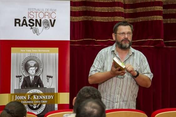 Bogdan Hrib_Festival Film Istoric Rasnov 2013