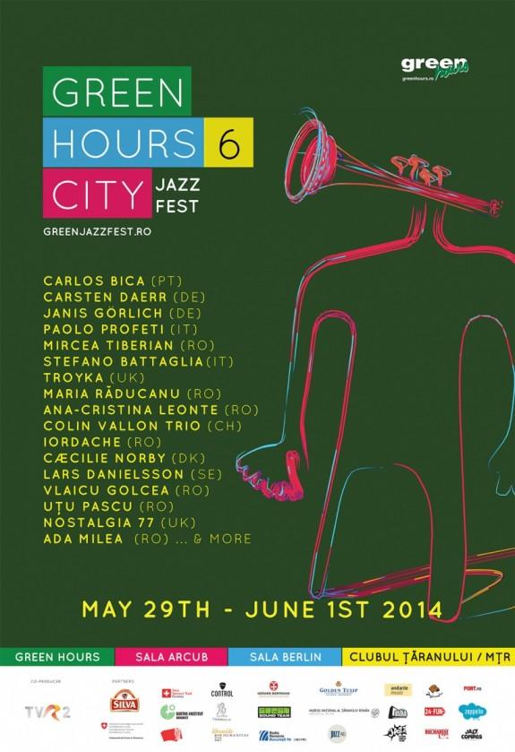 Green Hours CITY JAZZ Fest 2014. Ed. a 6-a- 29 mai - 1 iunie