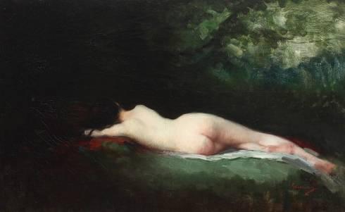 Nicolae Grigorescu, Nimfa dormind