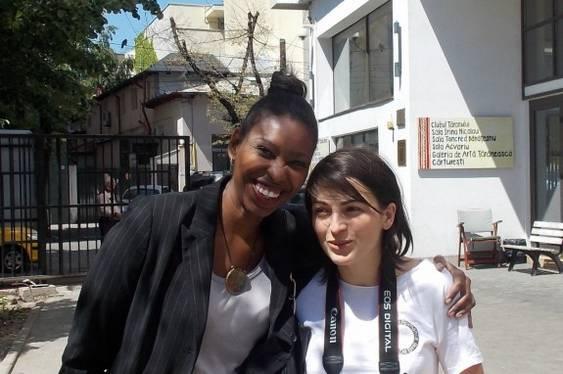Tamilla Woodard si Ana Margineanu