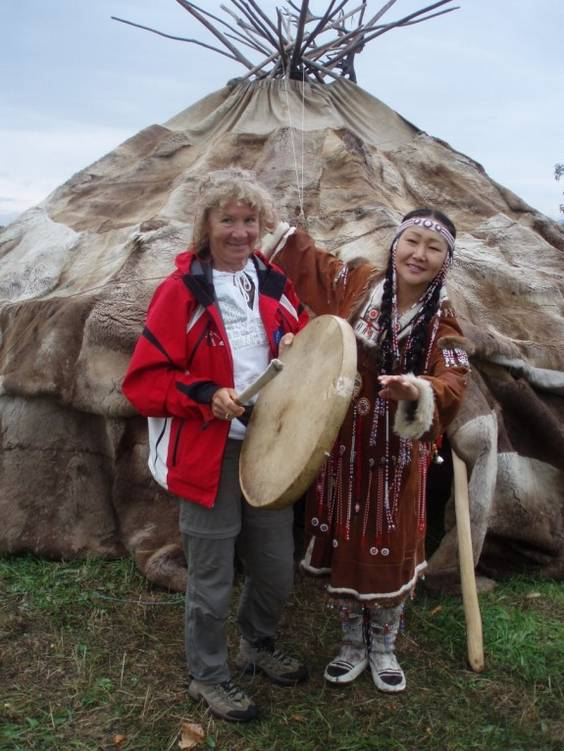 acasa la inuitii din Kamceatka