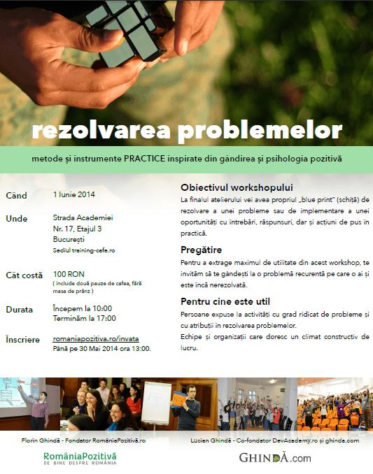 afis rezolvarea problemelor mai 2014