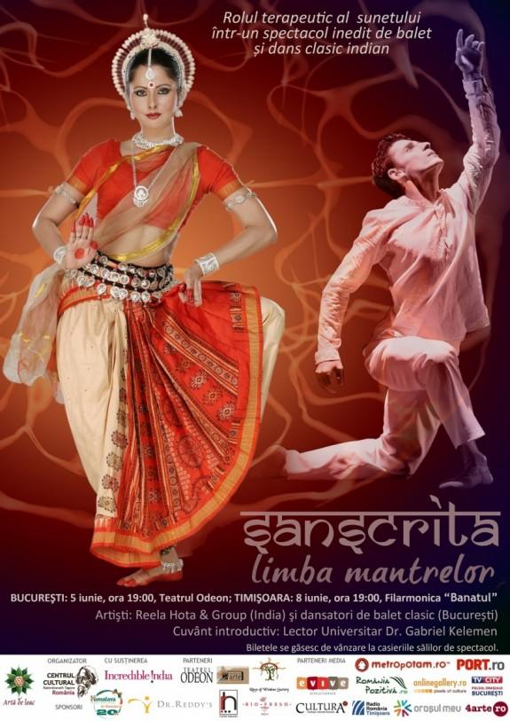 afis spectacol afis spectacol - sanscrita, limba mantrelor - web