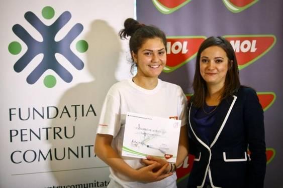Amalia Tataran, Kinga Daradics -CEO MOL Romania