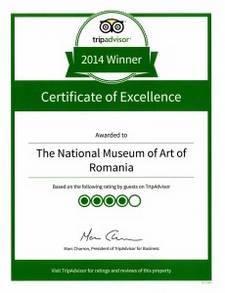 Certificat de excelenta MNAR