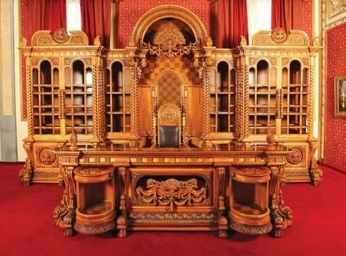 Garnitura de mobilier de birou, N. Ceausescu