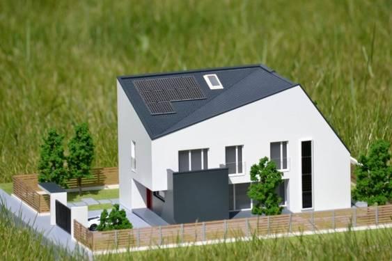 Macheta_Casa e4 din caramida de la Wienerberger