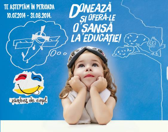 Campania Lidl - Zambet de copil