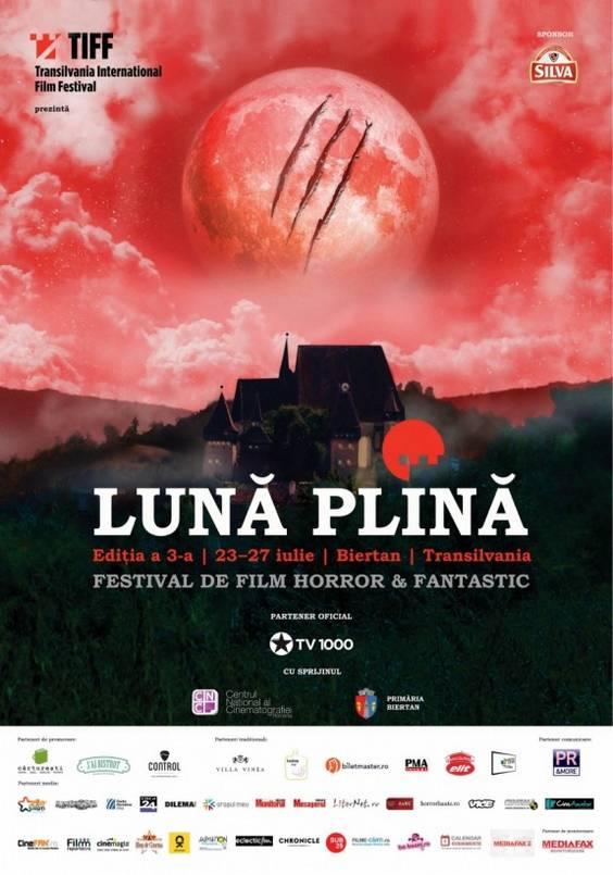 Luna Plina Poster