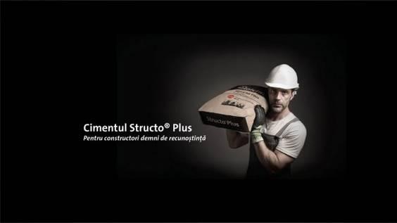 Vizual campanie Structo Plus