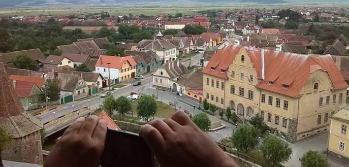FOTO: Plimbare la Sibiu și împrejurimi