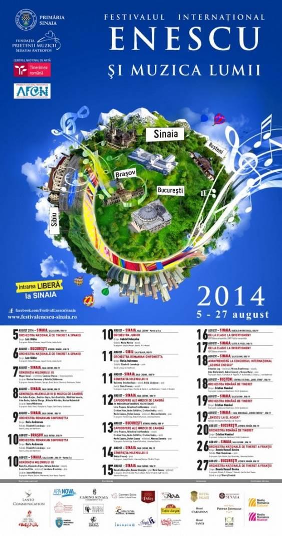 Enescu si muzica lumii_BLUE_Afis