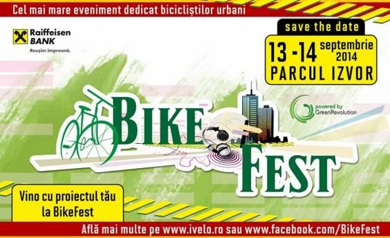 Vino cu proiectul tau la BikeFest 2014