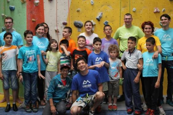 7. Climb Again_Copii cu nevoi speciale la escalada