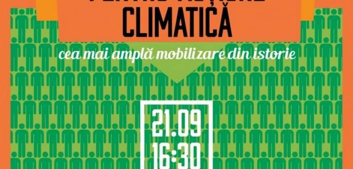 Marșul global pentru acțiune climatică / 21 septembrie