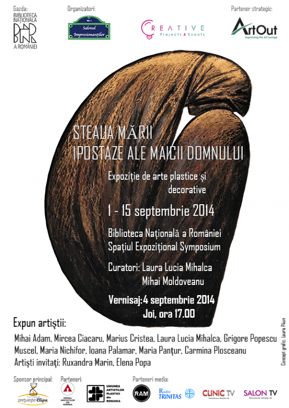 Afis expozitie Steaua Marii web