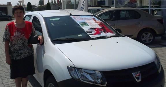 Dana Turt - castigatoarea primei masini din campania CSR Profi 2014