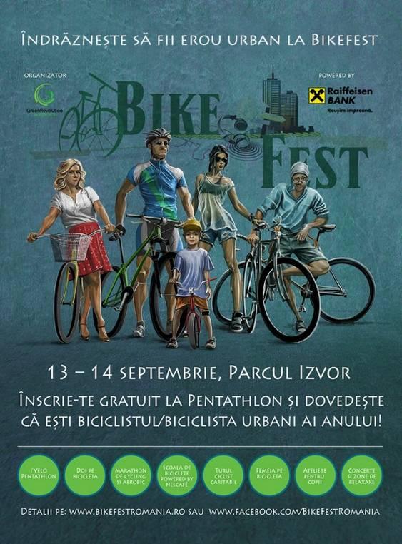 Indrazneste sa fii erou la BikeFest