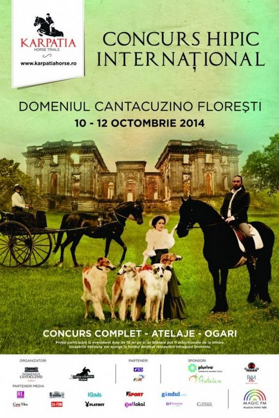 Karpatia Horse Trials 2014_Afisul