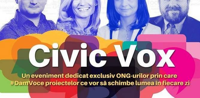 CLUJ NAPOCA: Civic Vox – un proiect inedit pentru a da voce ONG-urilor
