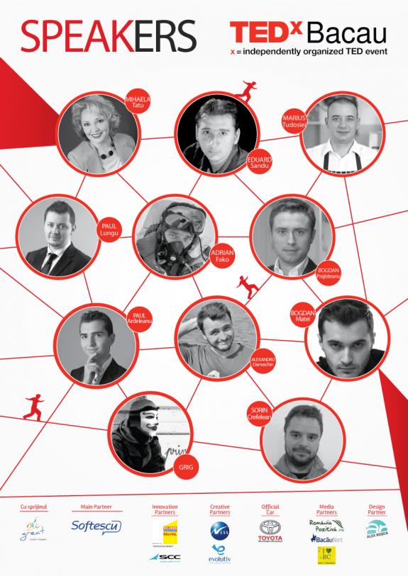 Afis_speakers_TEDxBacau2014