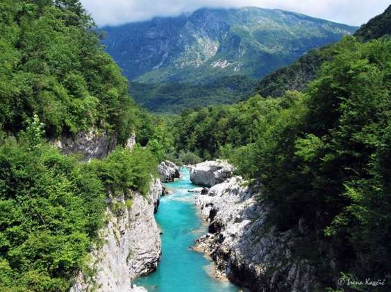 Riverbed of the Soca river (c) IrenaKavcic_WWF