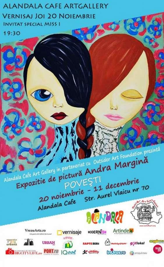 20.11 - Vernisaj Povesti de Andra Margina