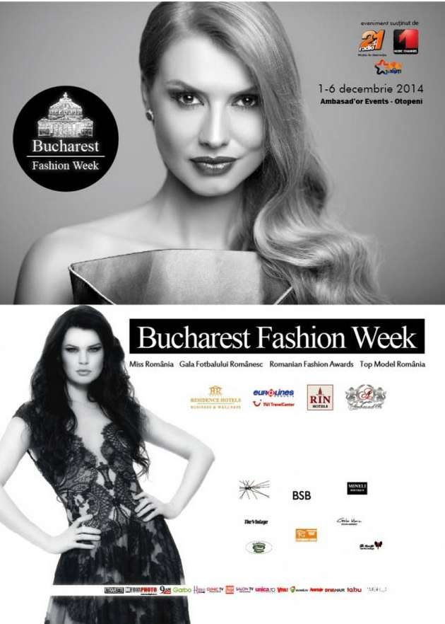 Afis Bucharest Fashion Week 2014
