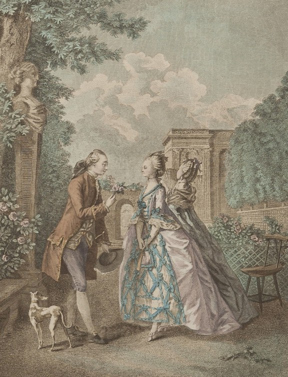 Johan Heinrich, copie dupa Sigmund Freudenberger - Plimbarea de seara