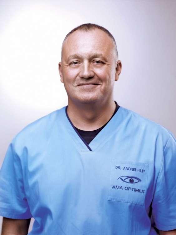 Dr. Andrei Filip - medic primar specialist oftalmolog