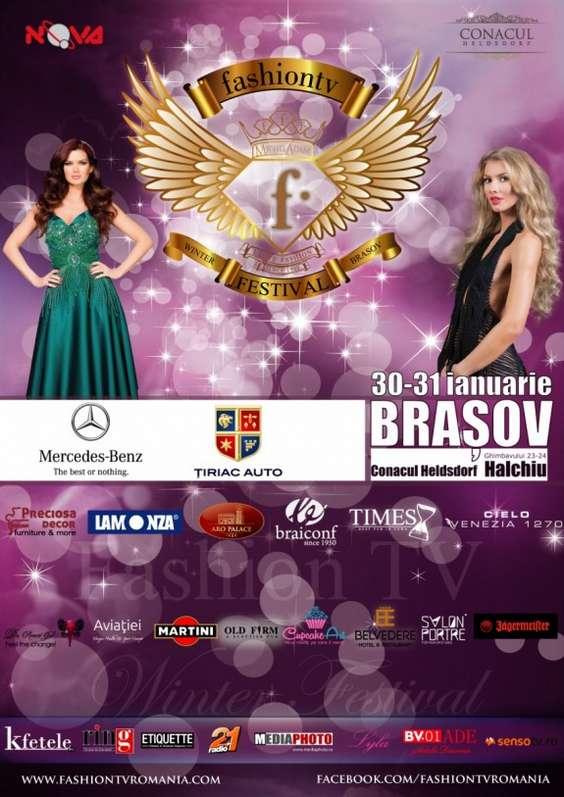 Afis FashionTV Winter Festival 2015