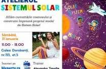 Copy of Afis atelier sistemul solar pentru copii