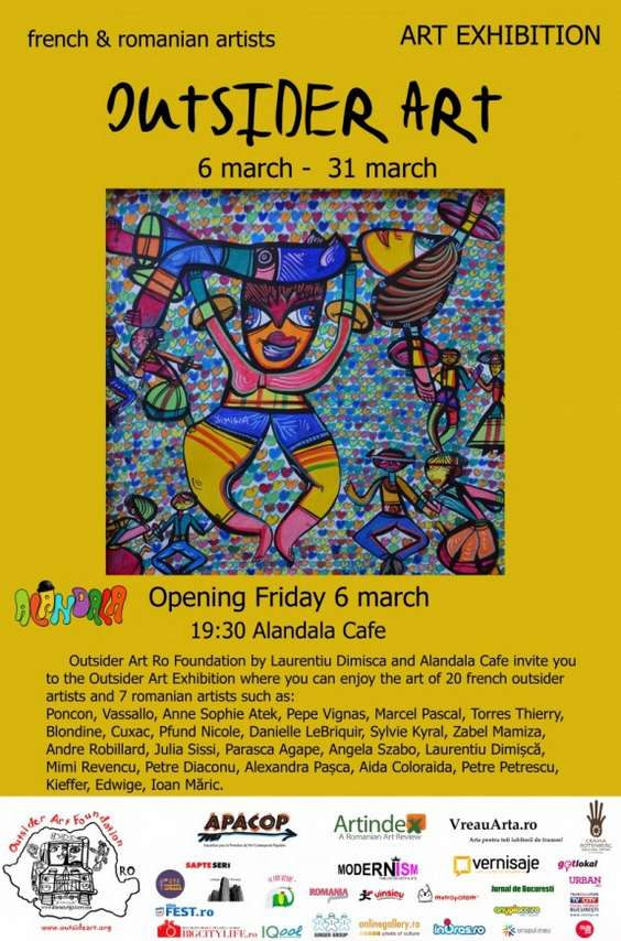 06.03 - 31.03 - Outsider Art Exhibition