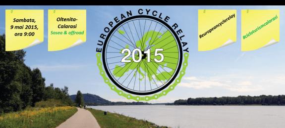 European Cycle Relay - Romania, May 9th [Oltenita-Calarasi]