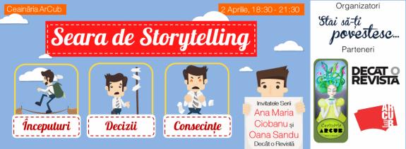 Seara de Storytelling 2 aprilie 2014