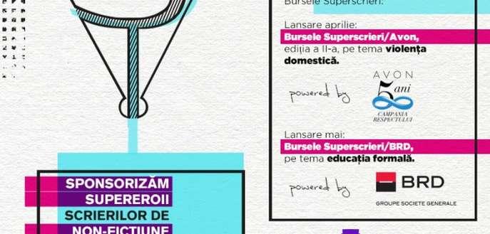 Bursele Superscrieri – 18 000 de euro pentru realizarea a 9 proiecte jurnalistice