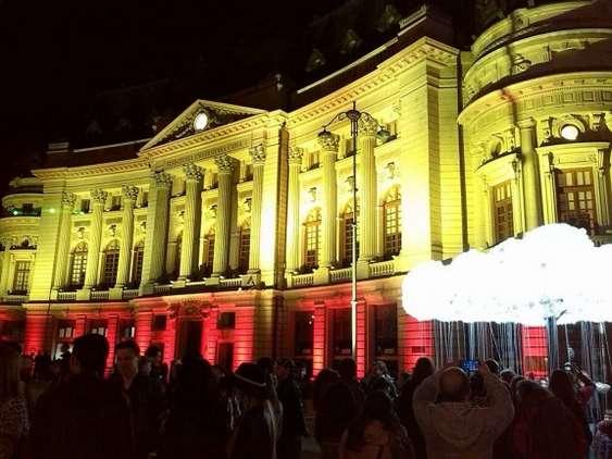 BCU biblioteca la Spotlight festival romaniapozitiva