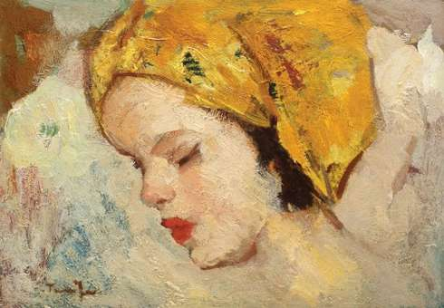 Cap de copil, Nicolae Tonitza