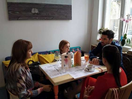 Charity Lunch Alex Dima 1