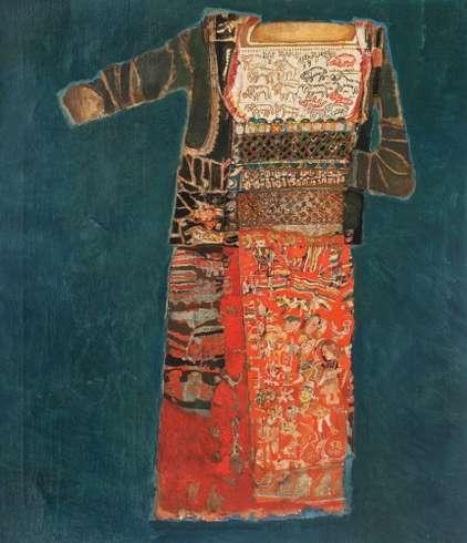 Costum cu motive pastorale, Georgeta Naparus