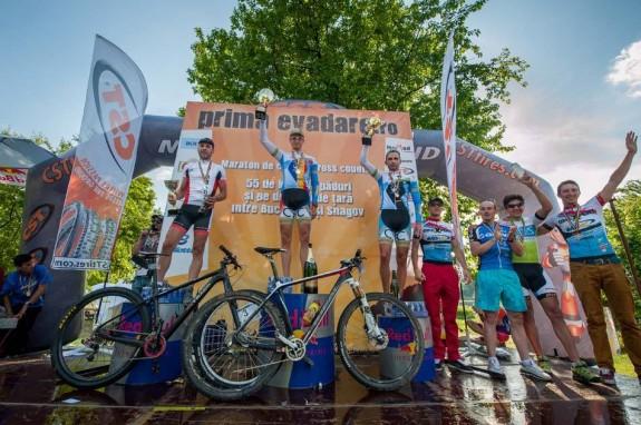 Festivitatea de premiere la concursul de ciclism Prima  Evadare