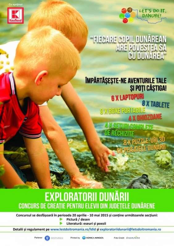 Poster Exploratorii Dunarii
